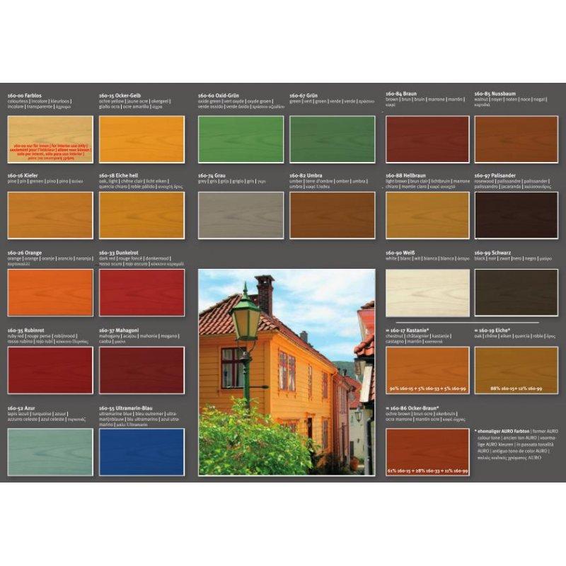 auro holzlasur 160 13 90. Black Bedroom Furniture Sets. Home Design Ideas