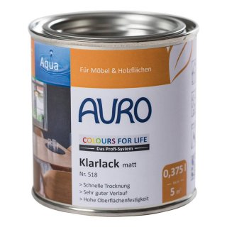 AURO CFL COLOURS FOR LIFE Klarlack, matt 518